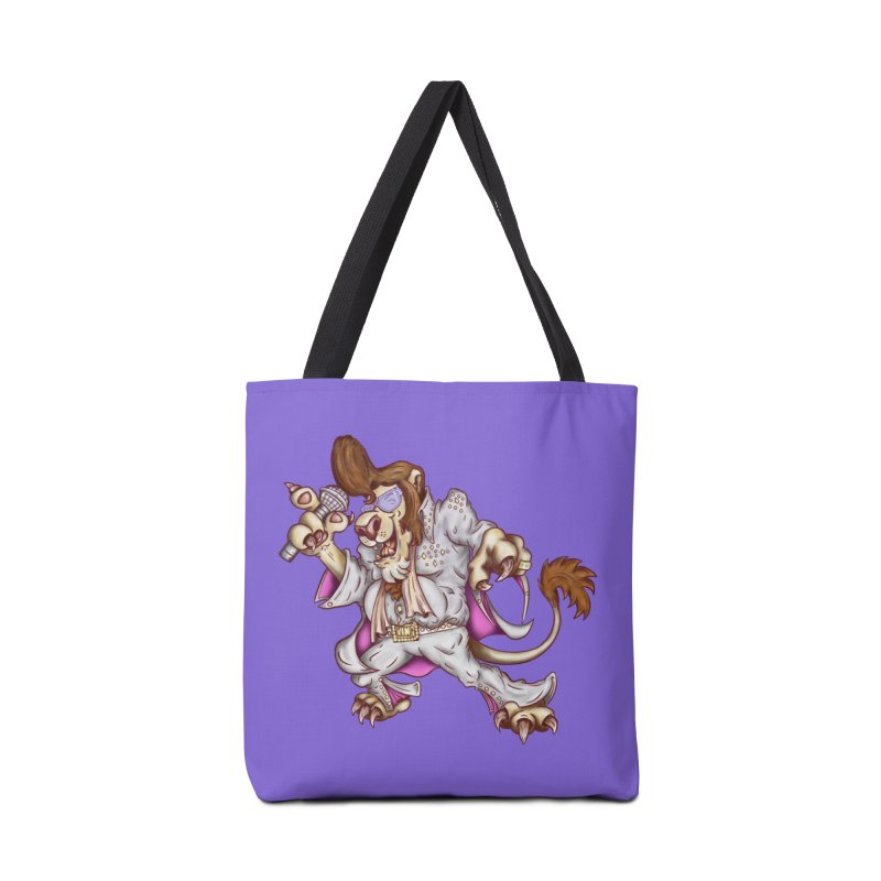 The King Accessories Tote Bag Bag by The Last Tsunami's Artist Shop