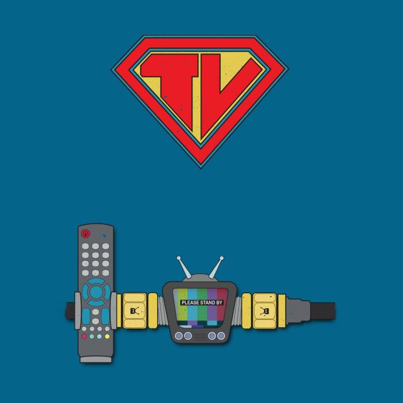 Super TV Man Accessories Bag by The Last Tsunami's Artist Shop