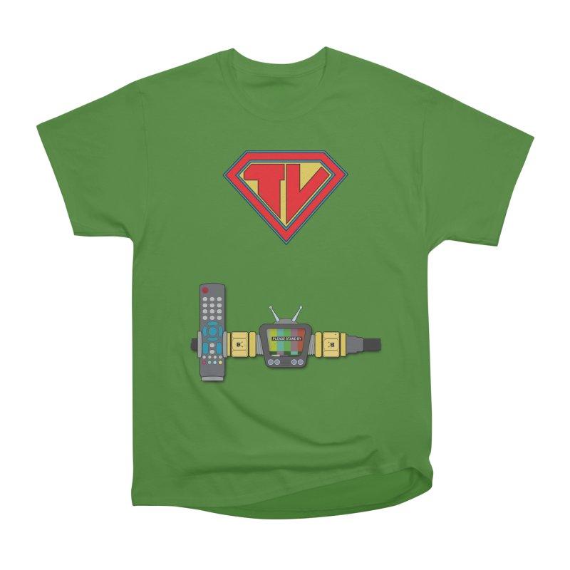Super TV Man Men's Classic T-Shirt by The Last Tsunami's Artist Shop