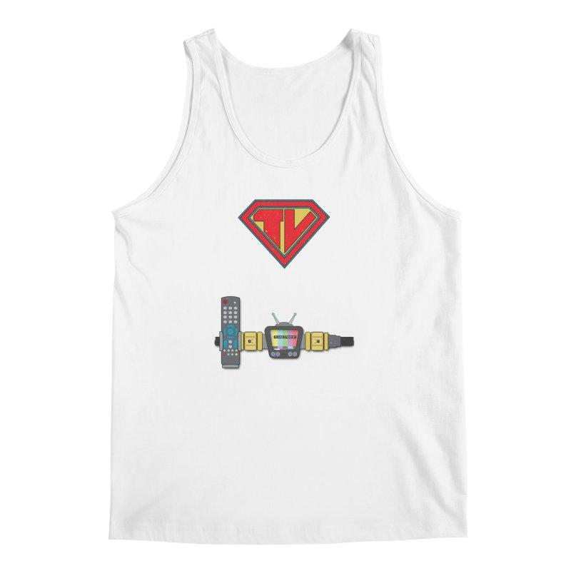 Super TV Man Men's Tank by The Last Tsunami's Artist Shop