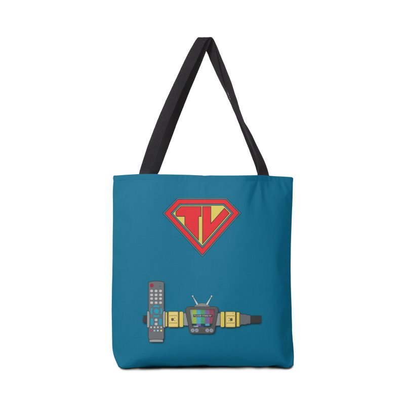 Super TV Man Accessories Bag by The Last Tsunami's Artist Shop