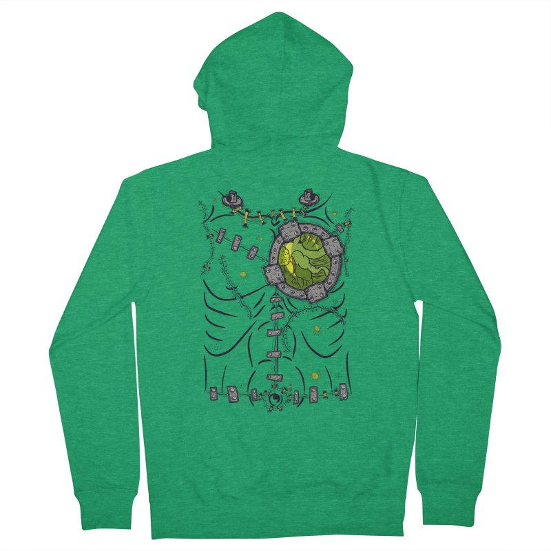 Dont Franky Me! Men's French Terry Zip-Up Hoody by The Last Tsunami's Artist Shop