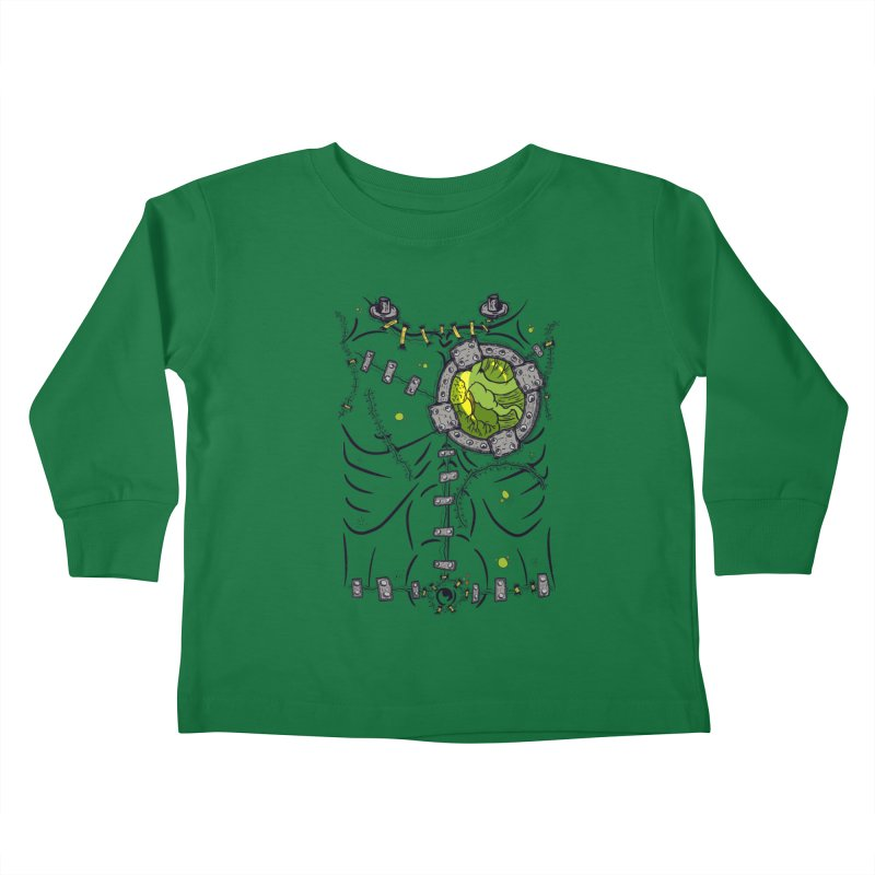Dont Franky Me! Kids Toddler Longsleeve T-Shirt by The Last Tsunami's Artist Shop