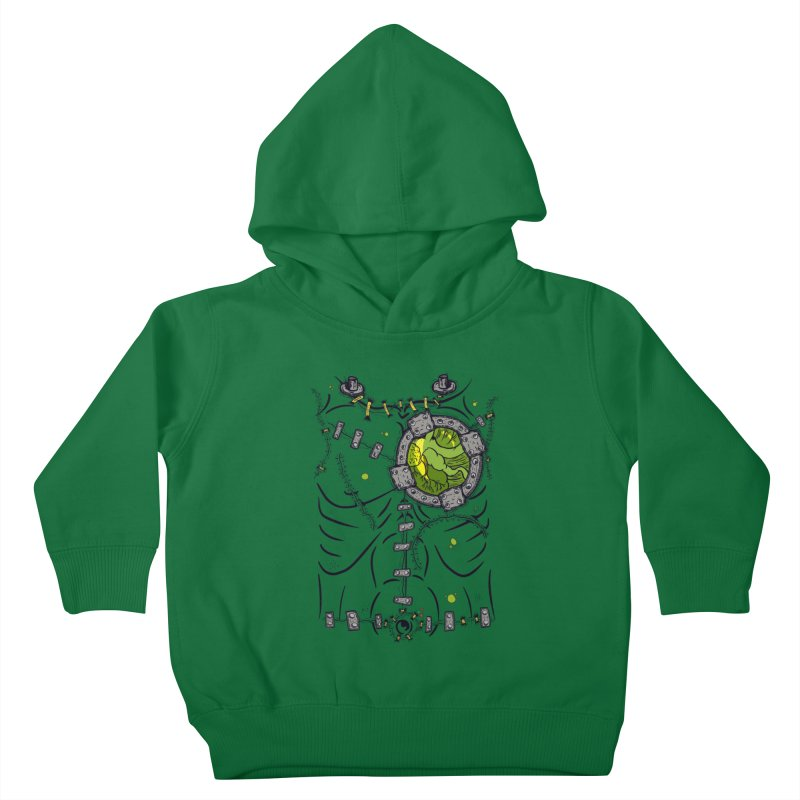 Dont Franky Me! Kids Toddler Pullover Hoody by The Last Tsunami's Artist Shop