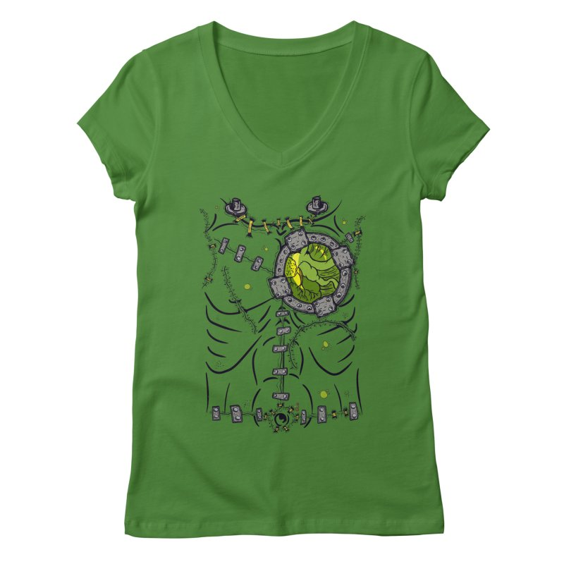 Dont Franky Me! Women's V-Neck by The Last Tsunami's Artist Shop