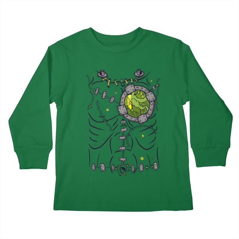 Dont Franky Me! Kids Longsleeve T-Shirt by The Last Tsunami's Artist Shop