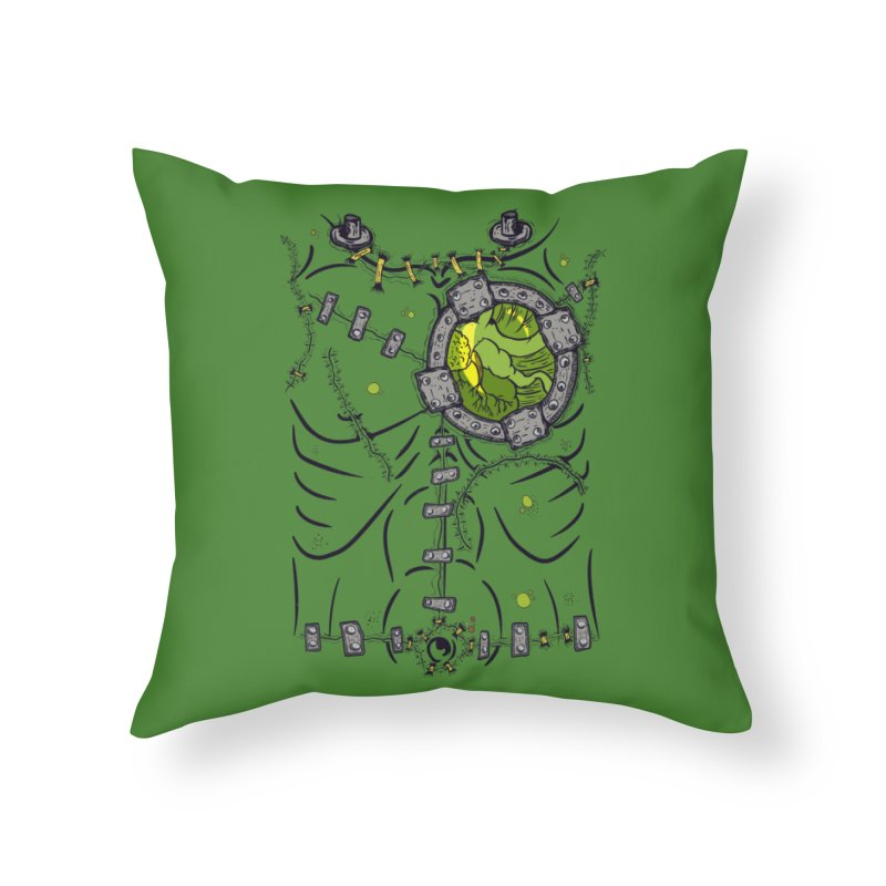 Dont Franky Me! Home Throw Pillow by The Last Tsunami's Artist Shop