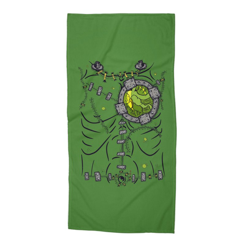 Dont Franky Me! Accessories Beach Towel by The Last Tsunami's Artist Shop