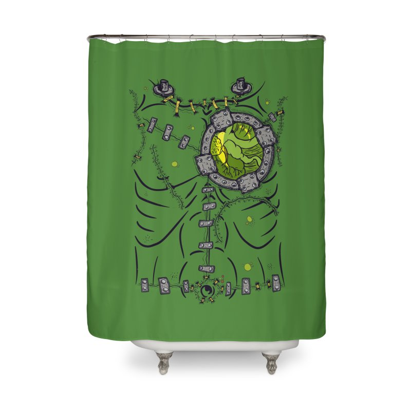 Dont Franky Me! Home Shower Curtain by The Last Tsunami's Artist Shop