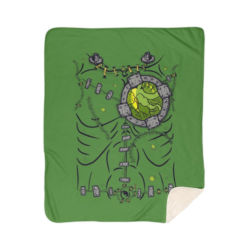 Dont Franky Me! Home Sherpa Blanket Blanket by The Last Tsunami's Artist Shop