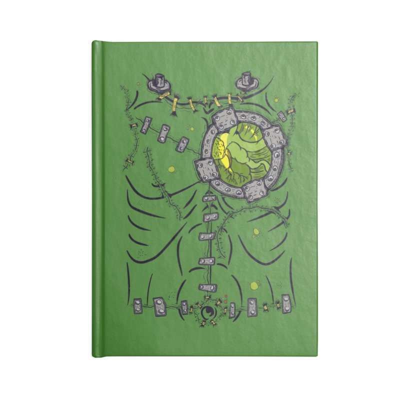 Dont Franky Me! Accessories Blank Journal Notebook by The Last Tsunami's Artist Shop