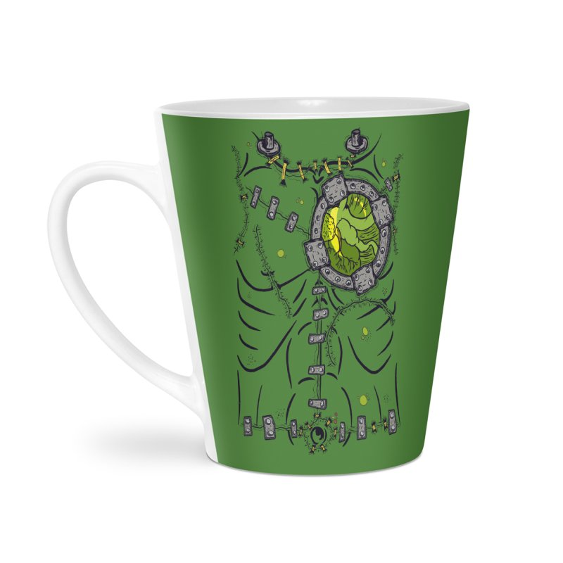 Dont Franky Me! Accessories Latte Mug by The Last Tsunami's Artist Shop