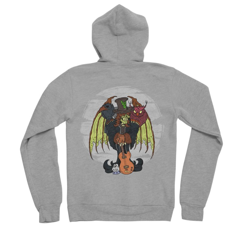 The Wise And The Trickster Men's Sponge Fleece Zip-Up Hoody by The Last Tsunami's Artist Shop