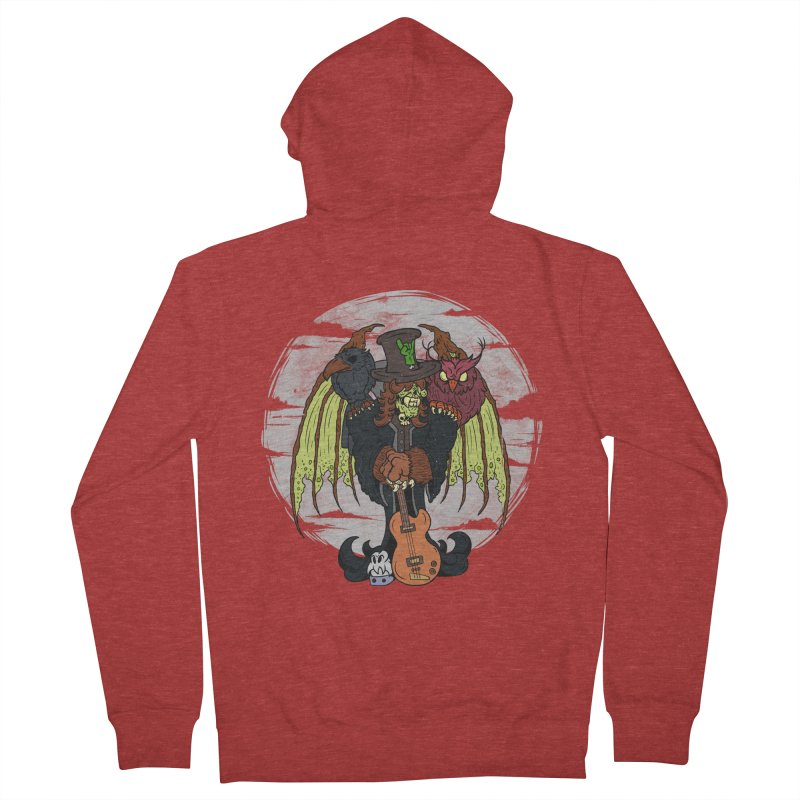 The Wise And The Trickster Women's French Terry Zip-Up Hoody by The Last Tsunami's Artist Shop