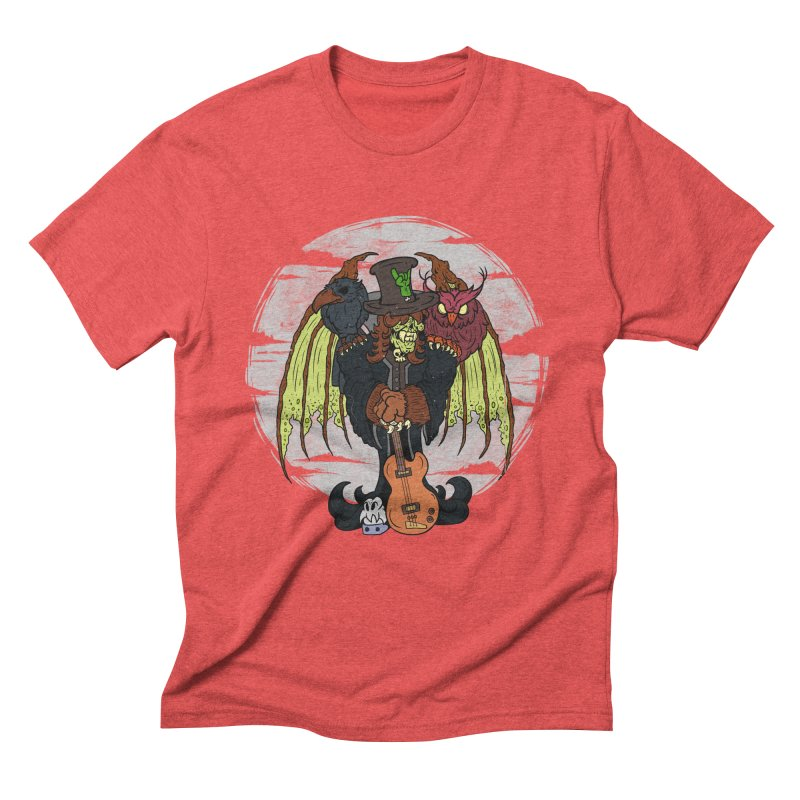 The Wise And The Trickster Men's Triblend T-Shirt by The Last Tsunami's Artist Shop