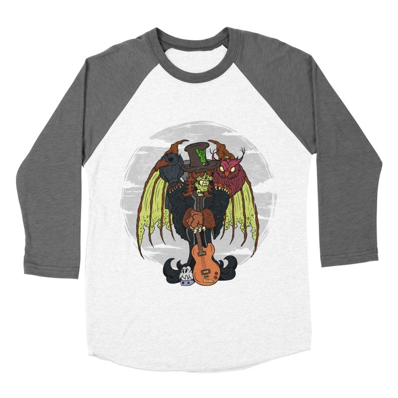 The Wise And The Trickster Men's Baseball Triblend T-Shirt by The Last Tsunami's Artist Shop