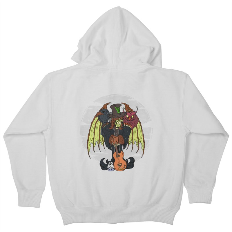 The Wise And The Trickster Kids Zip-Up Hoody by The Last Tsunami's Artist Shop