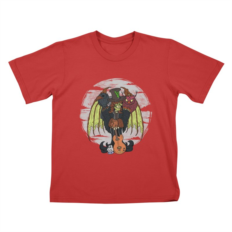 The Wise And The Trickster Kids T-Shirt by The Last Tsunami's Artist Shop
