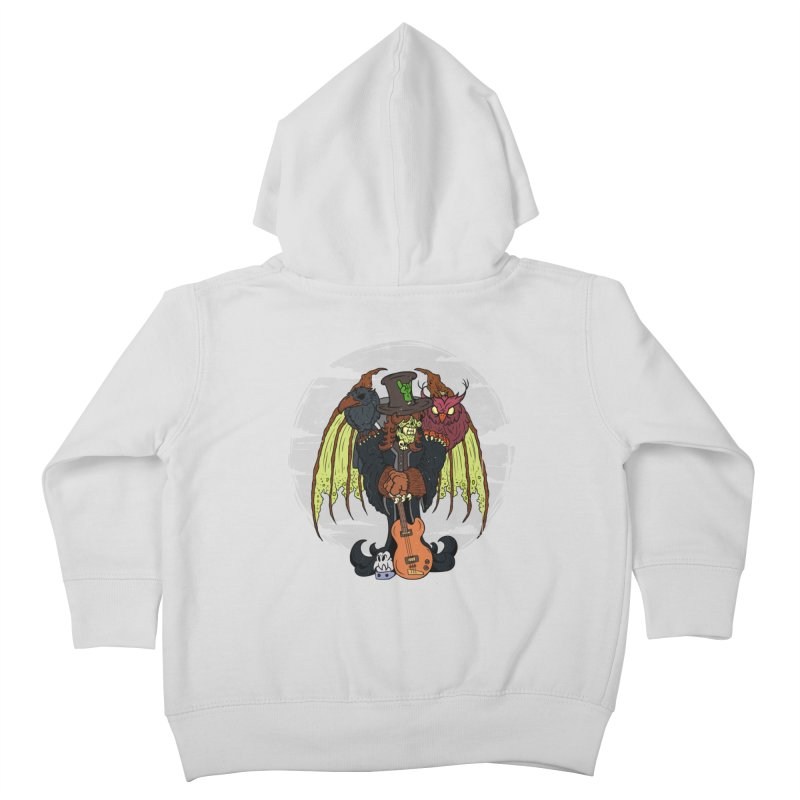 The Wise And The Trickster Kids Toddler Zip-Up Hoody by The Last Tsunami's Artist Shop