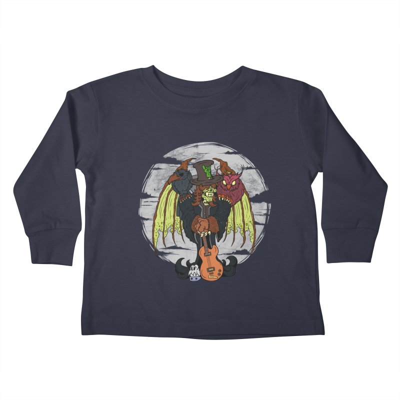 The Wise And The Trickster Kids Toddler Longsleeve T-Shirt by The Last Tsunami's Artist Shop