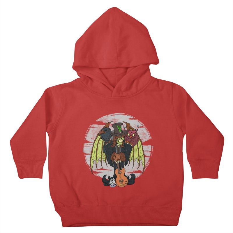 The Wise And The Trickster Kids Toddler Pullover Hoody by The Last Tsunami's Artist Shop