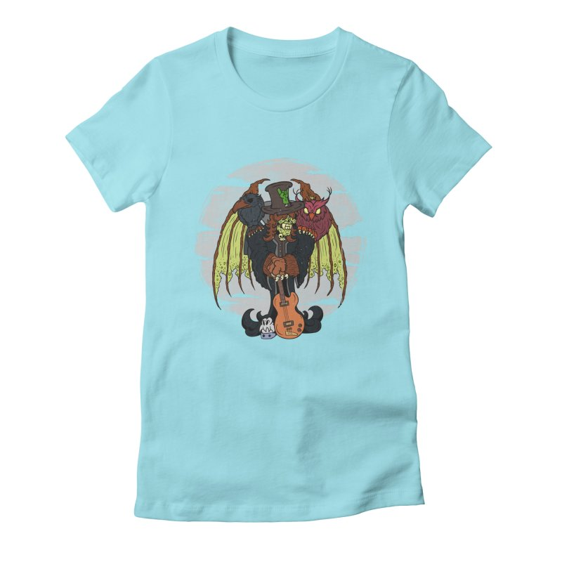 The Wise And The Trickster Women's Fitted T-Shirt by The Last Tsunami's Artist Shop
