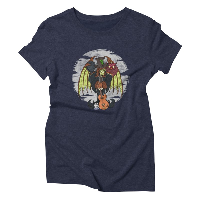The Wise And The Trickster Women's Triblend T-Shirt by The Last Tsunami's Artist Shop