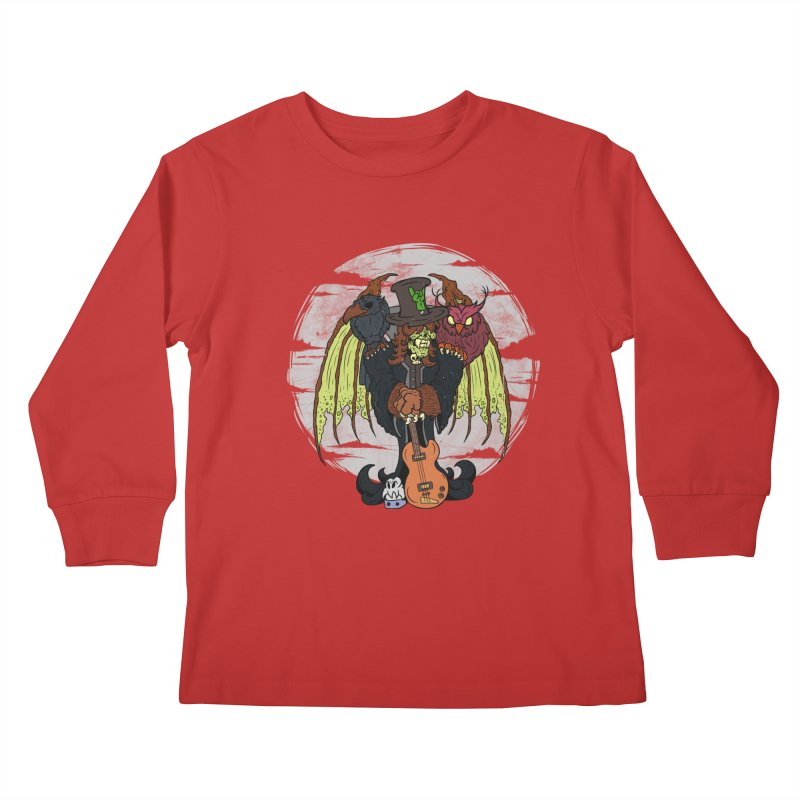 The Wise And The Trickster Kids Longsleeve T-Shirt by The Last Tsunami's Artist Shop