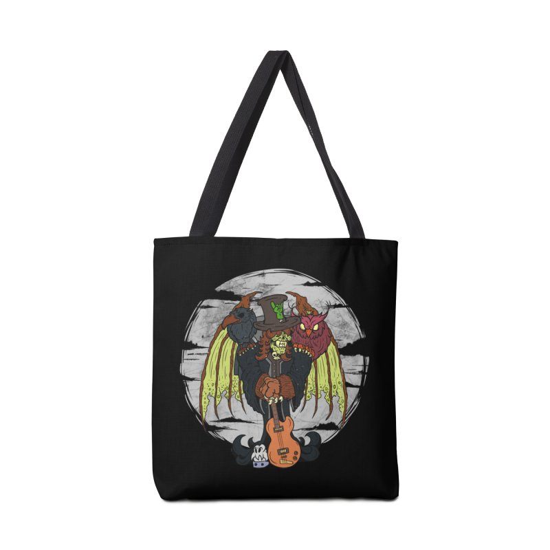 The Wise And The Trickster Accessories Bag by The Last Tsunami's Artist Shop