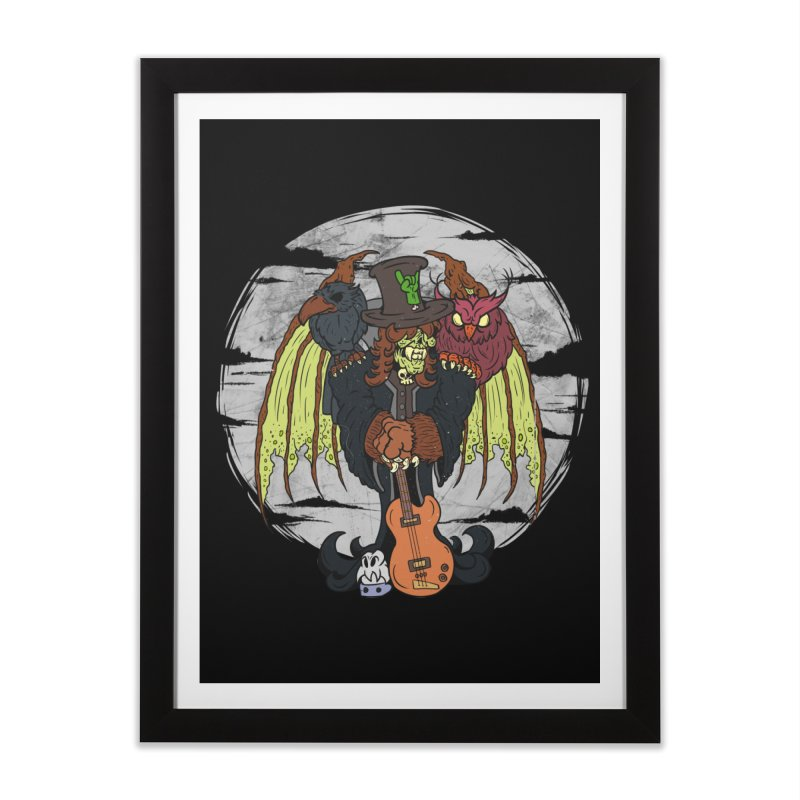 The Wise And The Trickster Home Framed Fine Art Print by The Last Tsunami's Artist Shop
