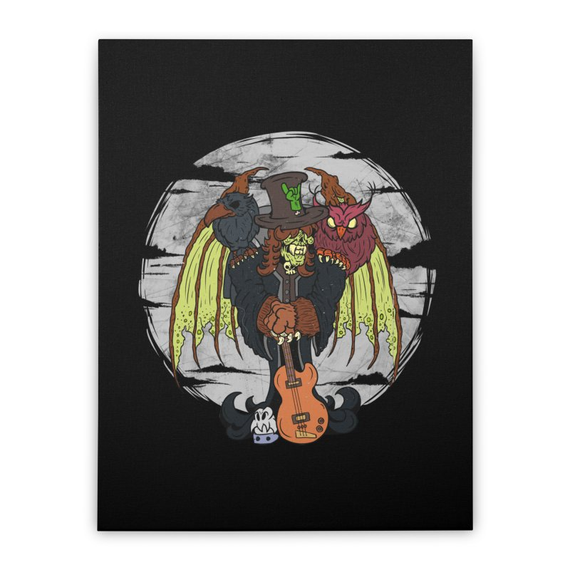 The Wise And The Trickster Home Stretched Canvas by The Last Tsunami's Artist Shop