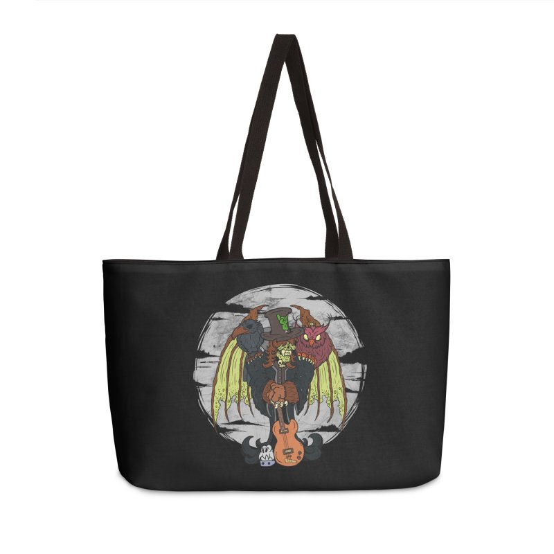 The Wise And The Trickster Accessories Weekender Bag Bag by The Last Tsunami's Artist Shop