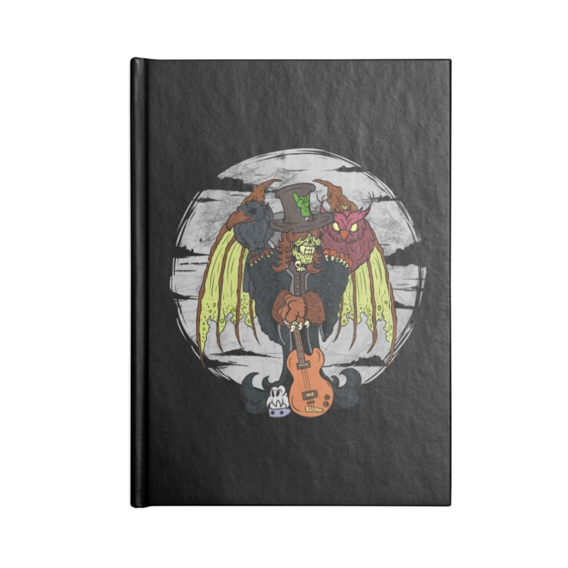 The Wise And The Trickster Accessories Blank Journal Notebook by The Last Tsunami's Artist Shop