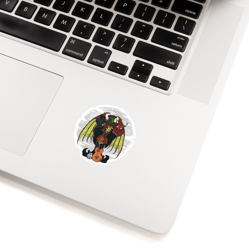 The Wise And The Trickster Accessories Sticker by The Last Tsunami's Artist Shop