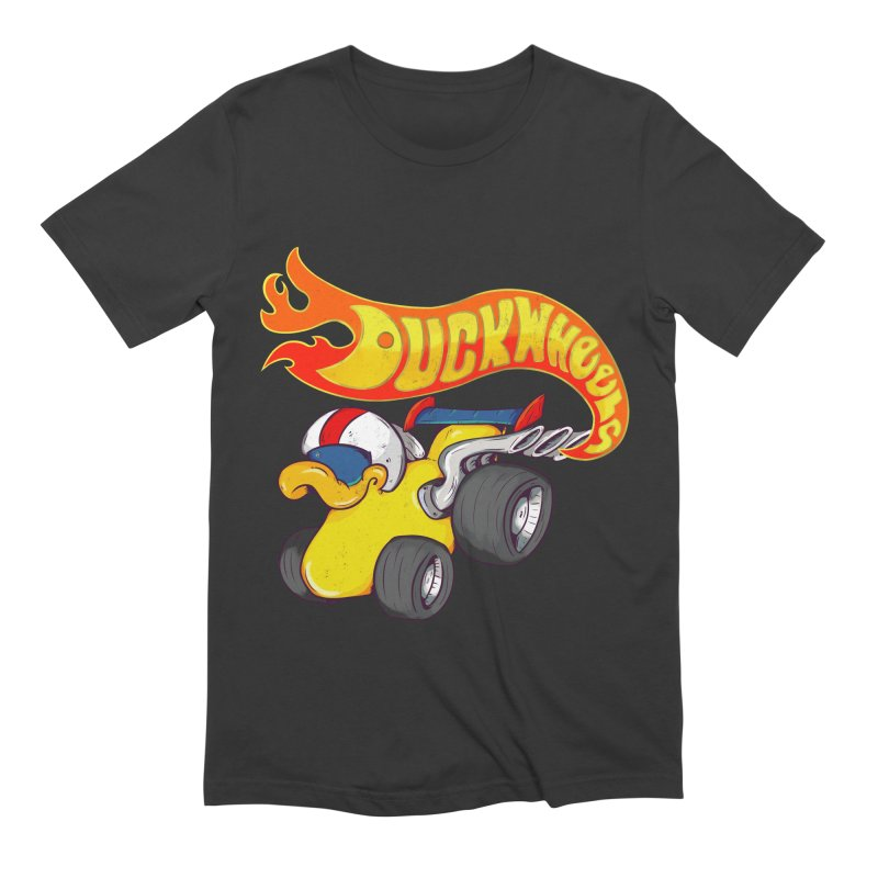 DuckWheels Men's Extra Soft T-Shirt by The Last Tsunami's Artist Shop