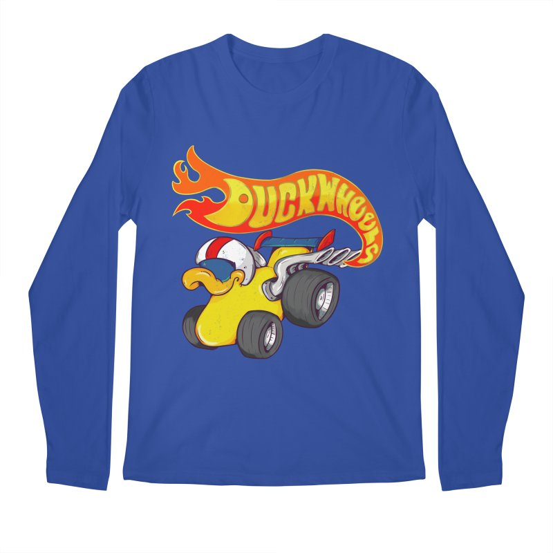 DuckWheels Men's Regular Longsleeve T-Shirt by The Last Tsunami's Artist Shop