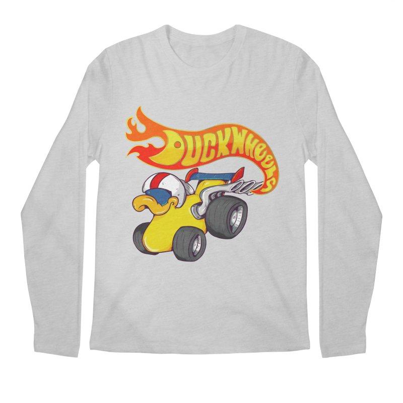 DuckWheels Men's Regular Longsleeve T-Shirt by The Last Tsunami's Artist Shop