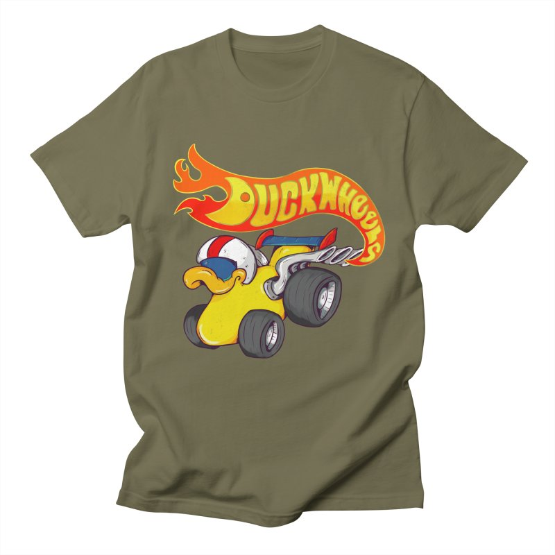 DuckWheels Women's Unisex T-Shirt by The Last Tsunami's Artist Shop