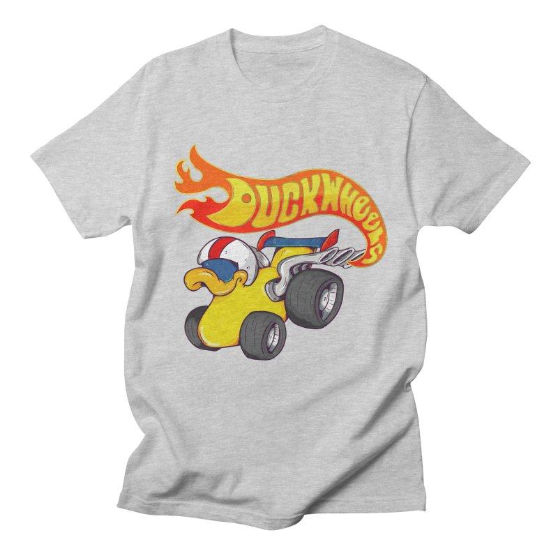 DuckWheels Men's Regular T-Shirt by The Last Tsunami's Artist Shop
