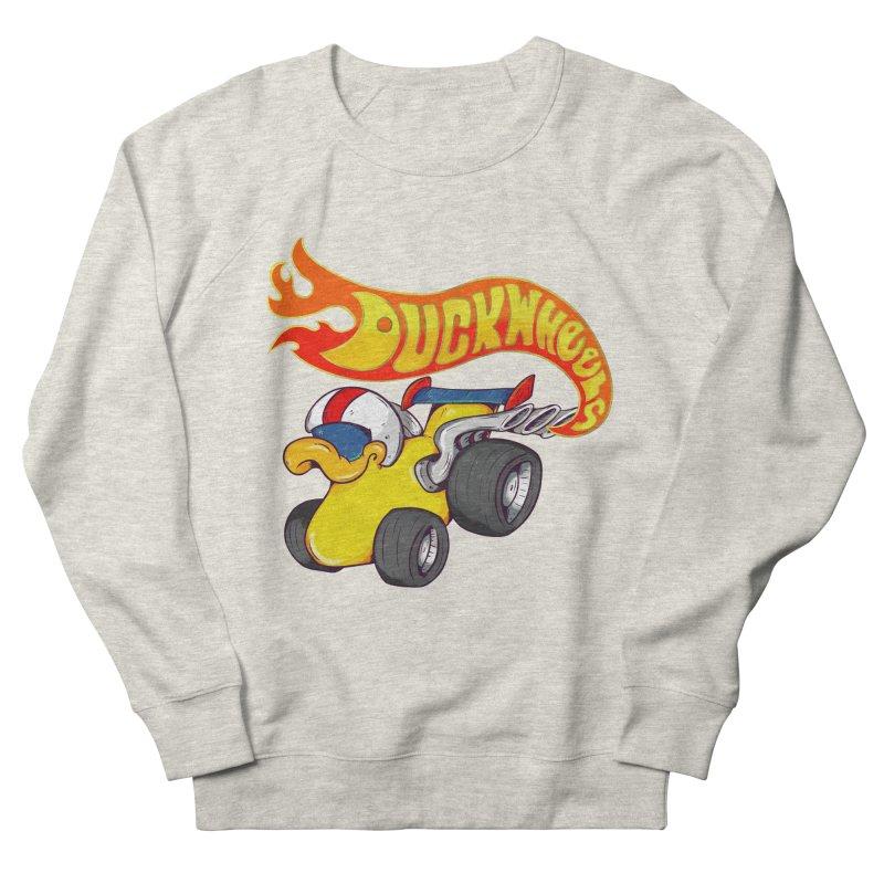 DuckWheels Men's Sweatshirt by The Last Tsunami's Artist Shop