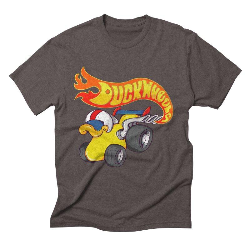 DuckWheels Men's Triblend T-Shirt by The Last Tsunami's Artist Shop