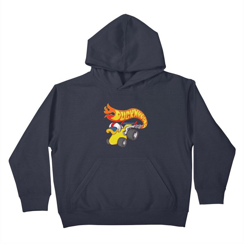 DuckWheels Kids Pullover Hoody by The Last Tsunami's Artist Shop