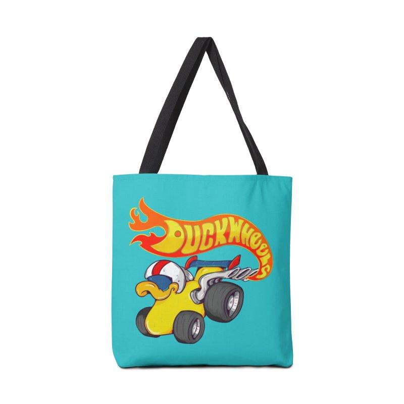 DuckWheels Accessories Tote Bag Bag by The Last Tsunami's Artist Shop