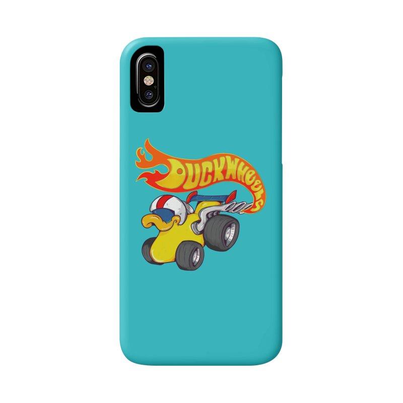 DuckWheels Accessories Phone Case by The Last Tsunami's Artist Shop