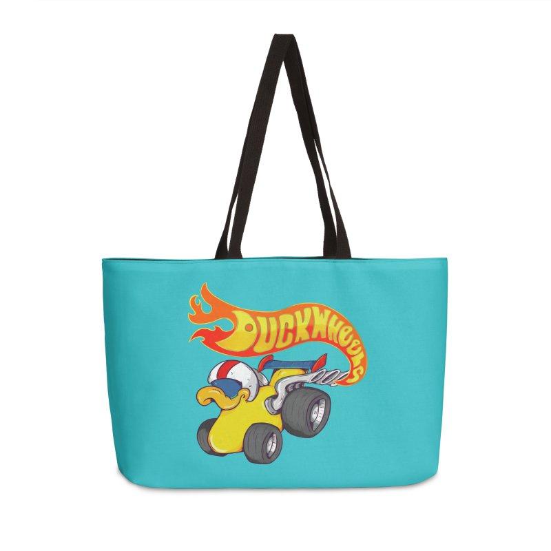 DuckWheels Accessories Weekender Bag Bag by The Last Tsunami's Artist Shop