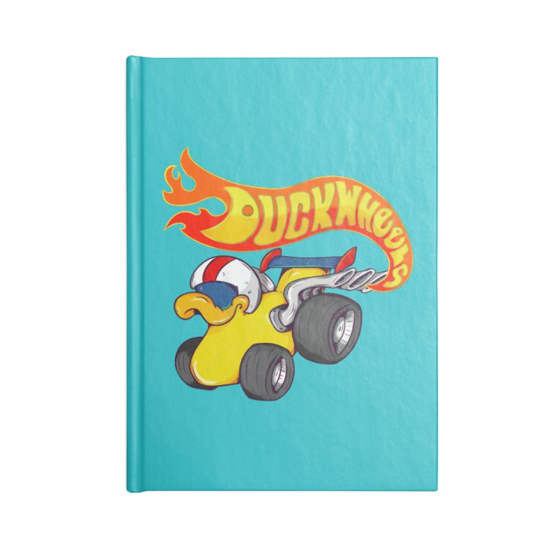 DuckWheels Accessories Lined Journal Notebook by The Last Tsunami's Artist Shop