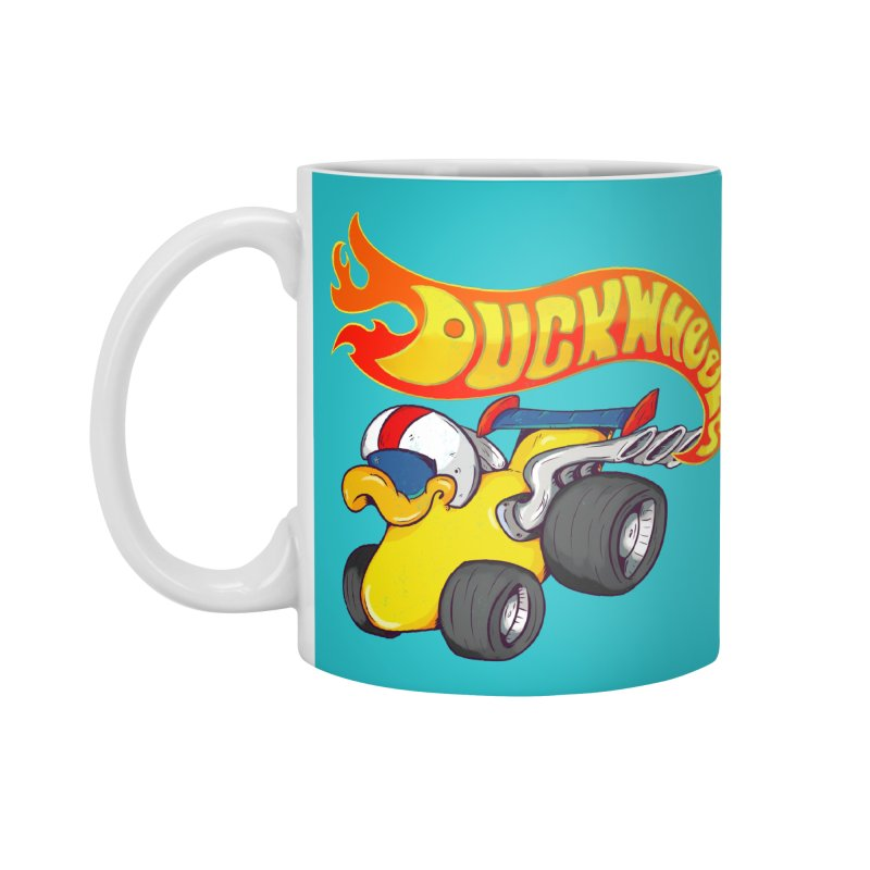 DuckWheels Accessories Standard Mug by The Last Tsunami's Artist Shop