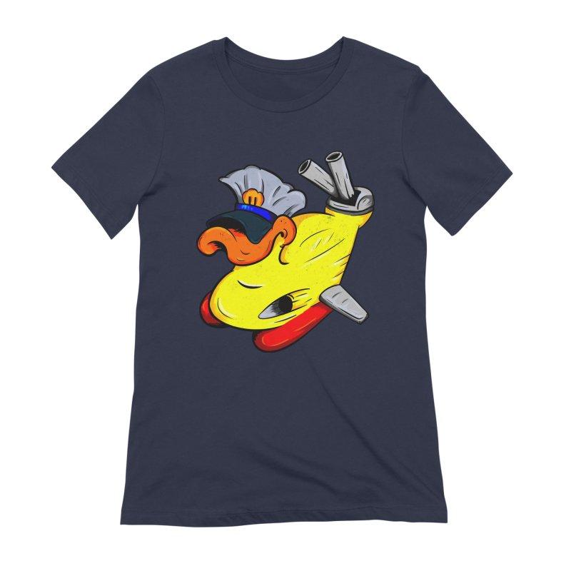 Destrucduck Women's Extra Soft T-Shirt by The Last Tsunami's Artist Shop