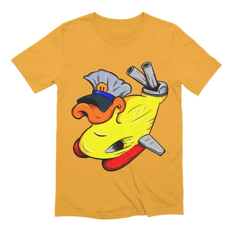 Destrucduck Men's Extra Soft T-Shirt by The Last Tsunami's Artist Shop