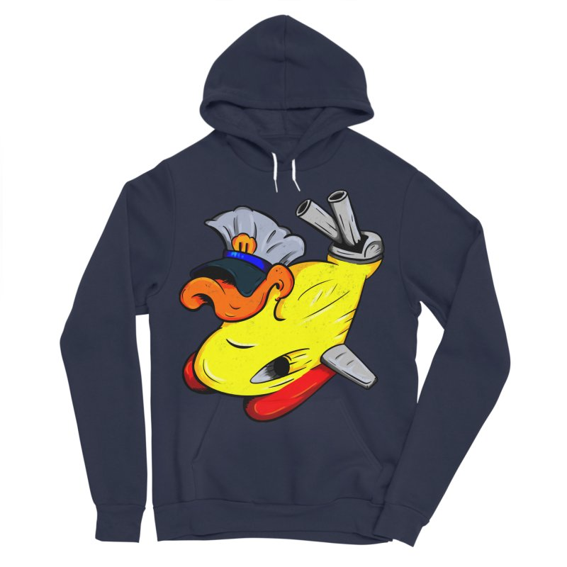 Destrucduck Men's Sponge Fleece Pullover Hoody by The Last Tsunami's Artist Shop